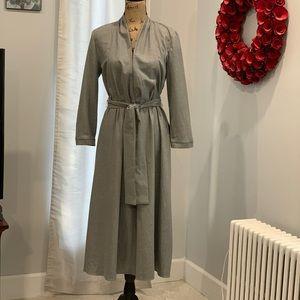 Zara long sleeve belted dress size L